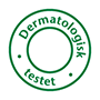 Pictogram dermatologically tested